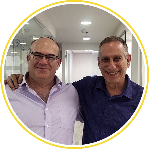 Founders Gal Almog and Doron Segal